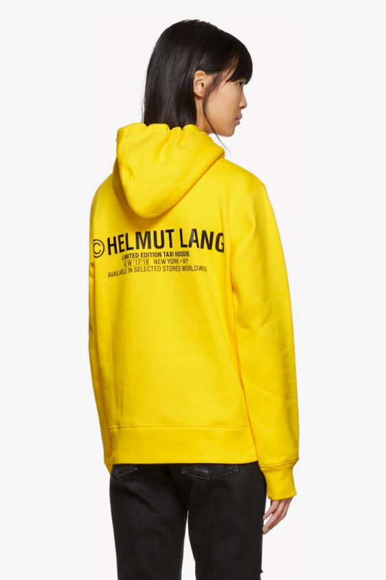 helmut lang 2017 fall winter taxi copyright hoodie tshirt tee ssense