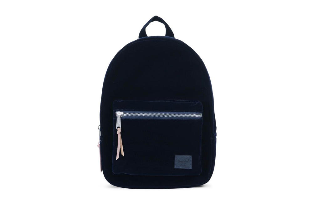 Herschel Supply Holiday 2017 Velvet Collection Pink Navy Blue Backpack Hip Pack Wallet Bag Ash Rose