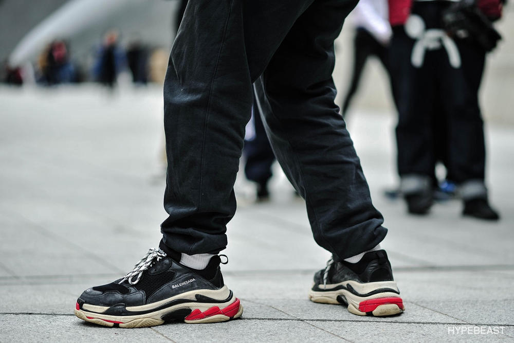 How To Wear The Balenciaga Triple S Outfit Hypebae