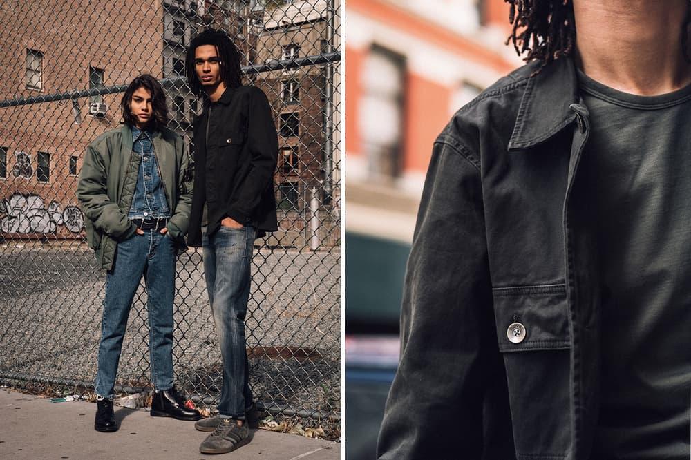 hudson jeans fall winter 2017 denim bomber jackets workwear