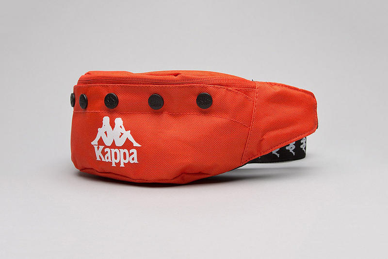 Kappa Popmeister Bumbag Red Fanny Pack