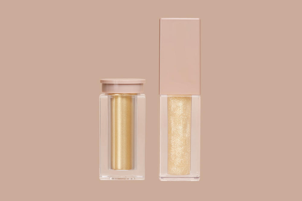 Kim Kardashian KKW Beauty Highlighters Lip Glosses Ultralight Beams Glitter December 1 Price