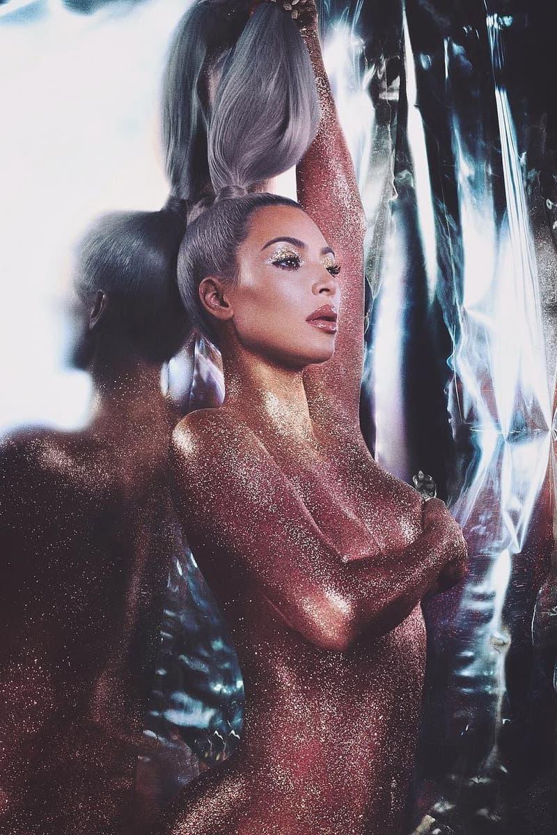 Kim Kardashian KKW Beauty Lip Gloss Makeup Release Date Shimmer Glitter Product Ultralight Beams