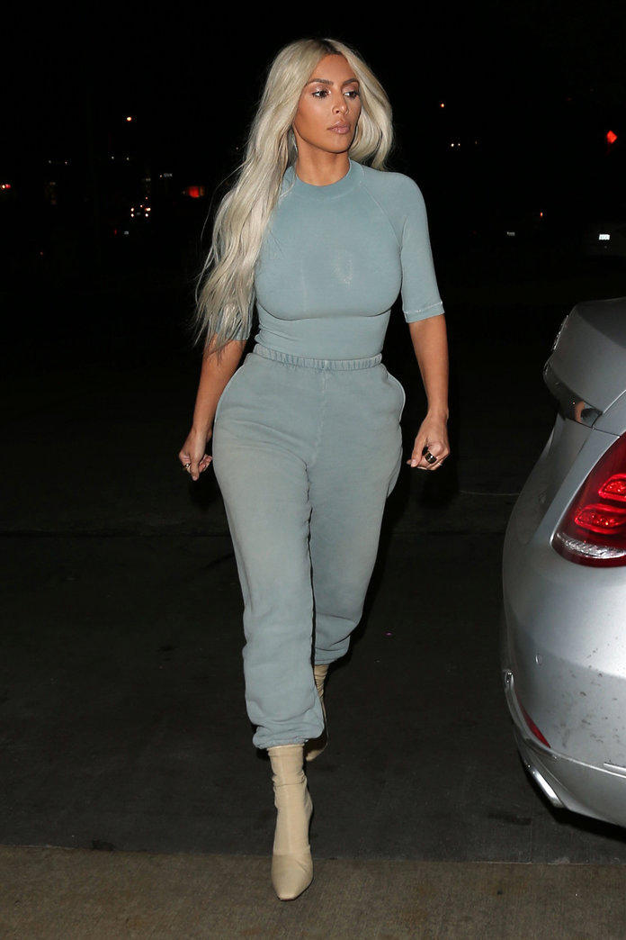 Kim Kardashian YEEZY Season 6 Kanye West Los Angeles Photoshoot