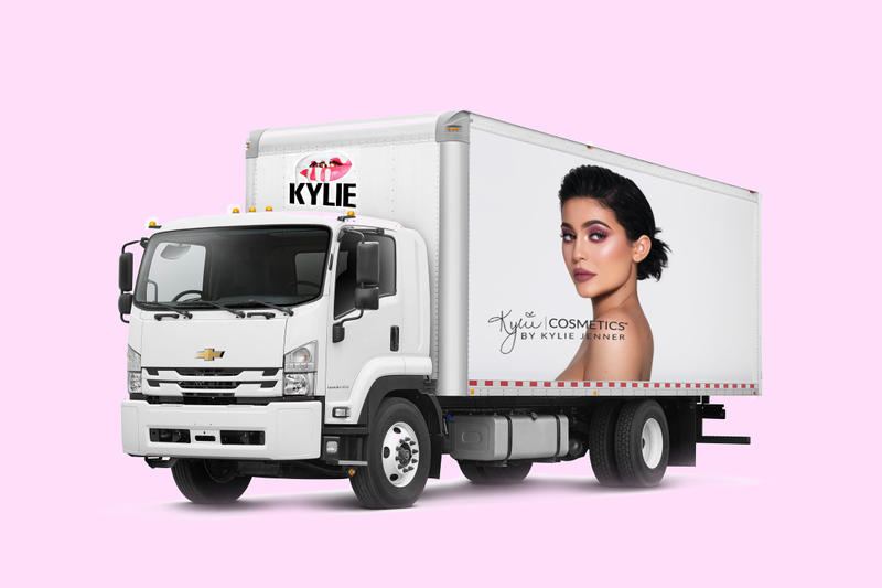 Kylie Cosmetics Kylie Jenner Pop-Up Trucks Lip Kits Trademark Project Business Beauty Makeup