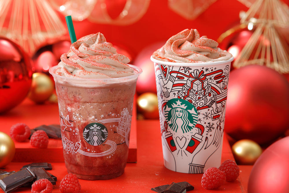 Starbucks Japan Lauren Tsai Christmas Collaboration