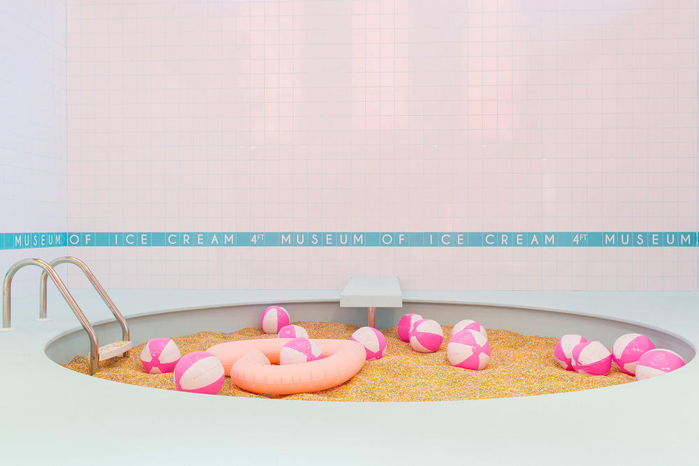 Museum of Ice Cream Miami Pink Pastel Millennial Instagram Sprinkle Swimming Pool