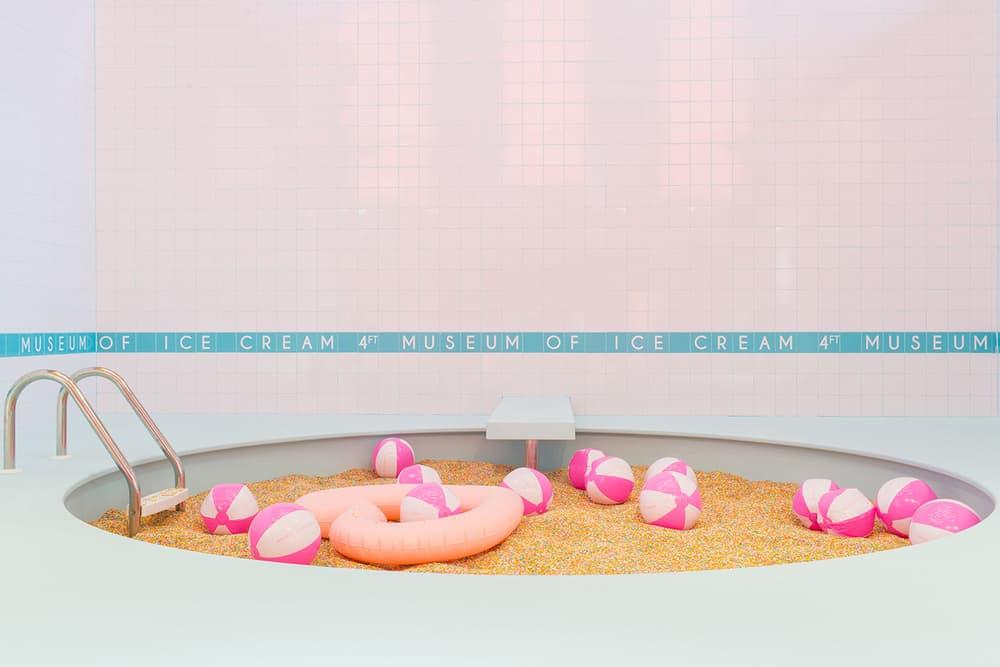 Museum of Ice Cream Miami Pink Pastel Millennial Instagram Sprinkle Swimming Pool
