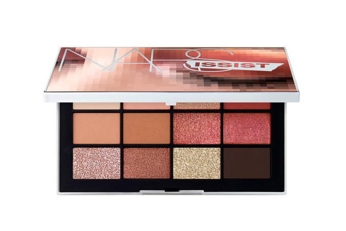 NARS Cosmetics Wanted Eyeshadow Palette New Formula Makeup Pigment Color Beauty Nude Holiday