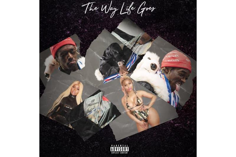 Nicki Minaj Lil Uzi Vert The Way Life Goes Track Song Rap Hip Hop Rnb Feature Remix