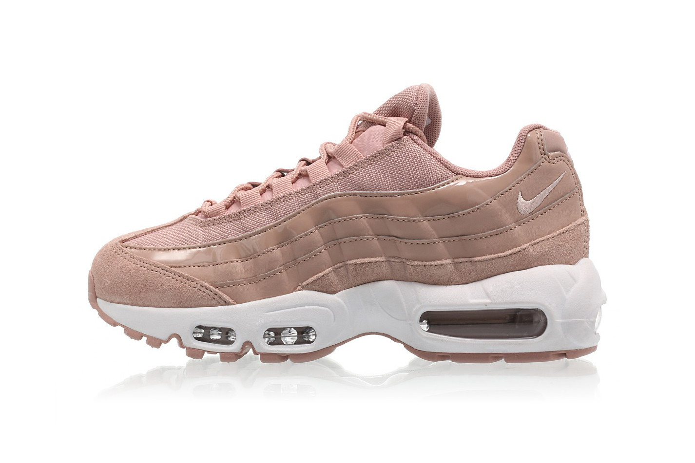 Nike Air Max 95 in Particle Pink | HYPEBAE