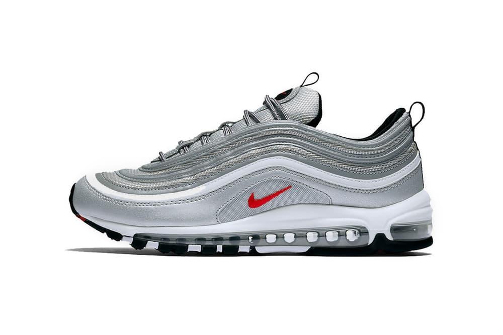buy popular b91ac 89d94 Nike Air Max 97 Silver Bullet Black Friday Restock | HYPEBAE