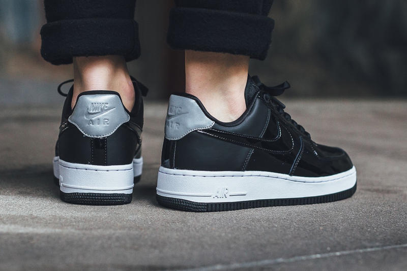 Nike Air Force 1 '07 Max 95 Classic Cortez Special Field Air Force 1 SF-AF1 Black Reflect Silver