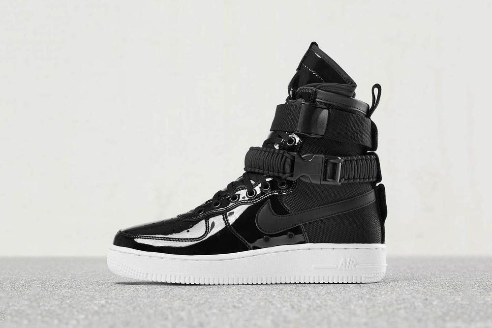 competitive price 570bd 1b16d Nike SF-AF1 & Air Max 95 Release in Patent Black | HYPEBAE
