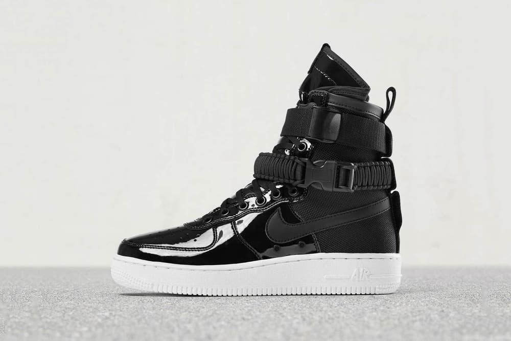 competitive price 5d814 fa57a Nike SF-AF1 & Air Max 95 Release in Patent Black | HYPEBAE