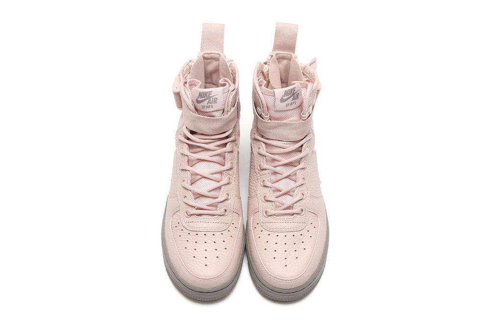 Nike Special Field Air Force 1 Mid Silt Red Dust Pink Pastel Millennial