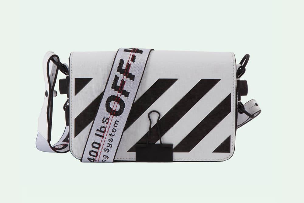 Off-White Binder Clip Bag Virgil Abloh Spring Summer 2018 Sculpture For Display Only