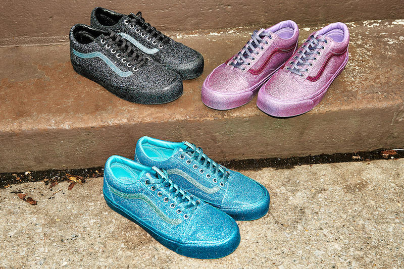 Opening Ceremony Vans Collaboration Glitter Pack Old Skool Sneaker Humberto Leon Carol Lim