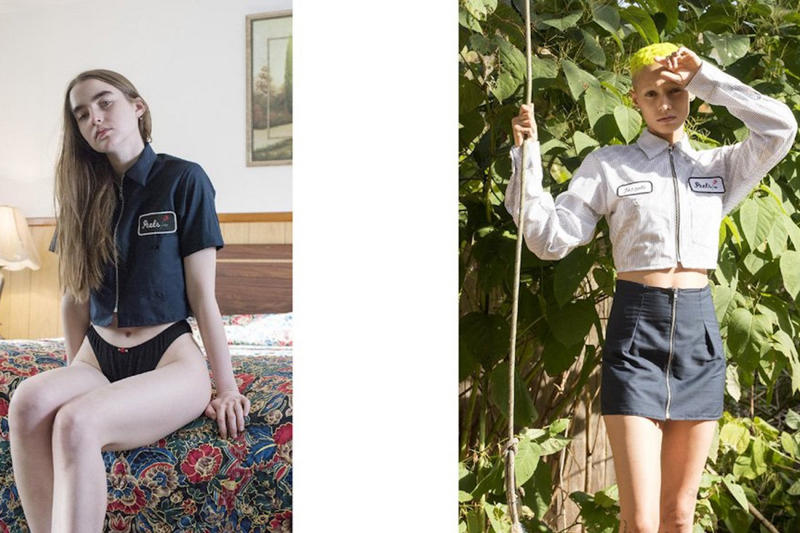Peels Spring/Summer 2018 Lookbook Collection Fashion Ali Michael Jazzelle Zanaught Minimal Nature Outfits