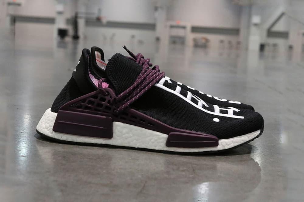 Pharrell Williams adidas Originals Hu NMD Holi Pack Black Canvas