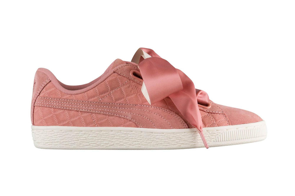 PUMA Suede Heart Quilted Cameo Brown