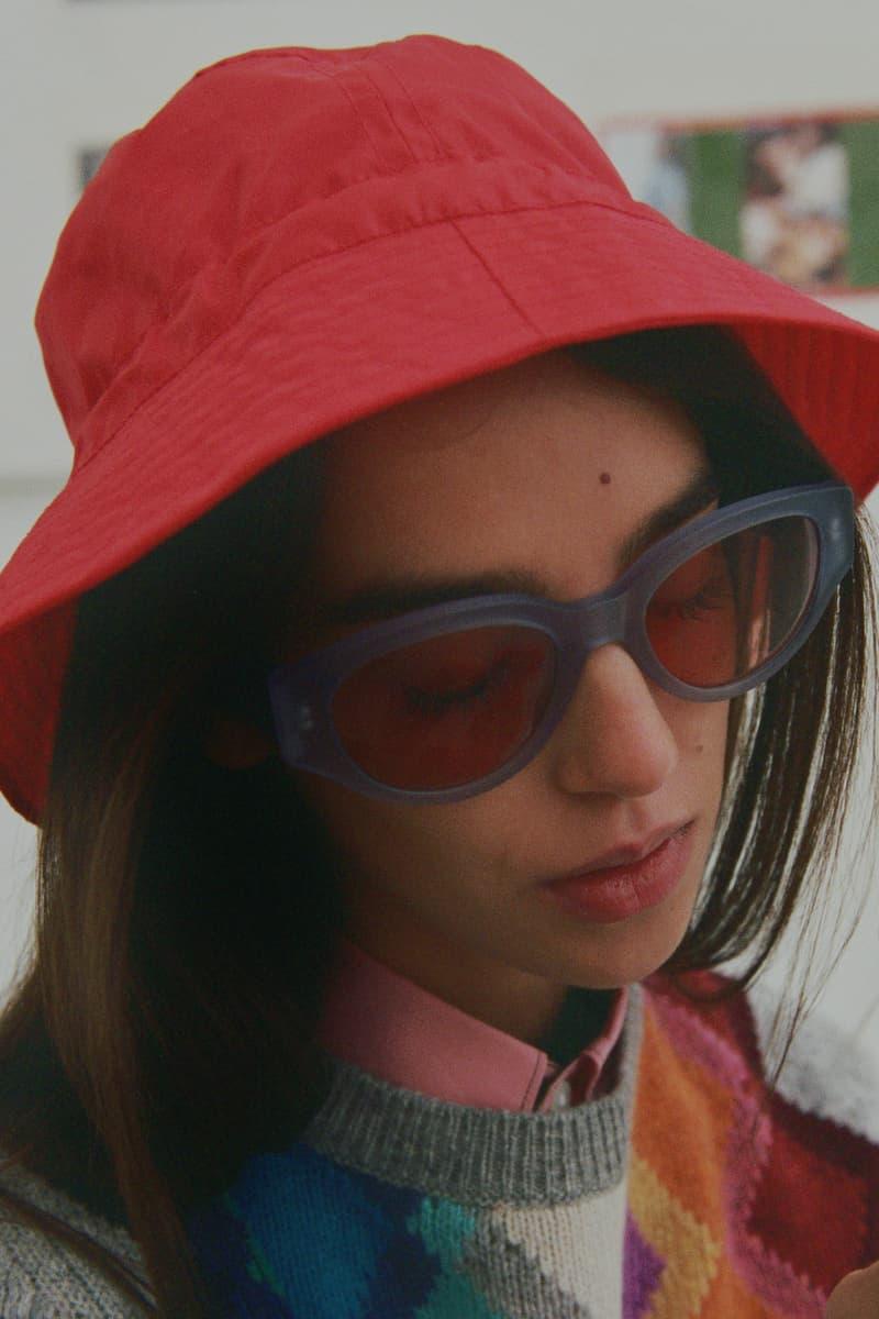 RETROSUPERFUTURE Drew Mama Softism Pink Blue Sunglasses