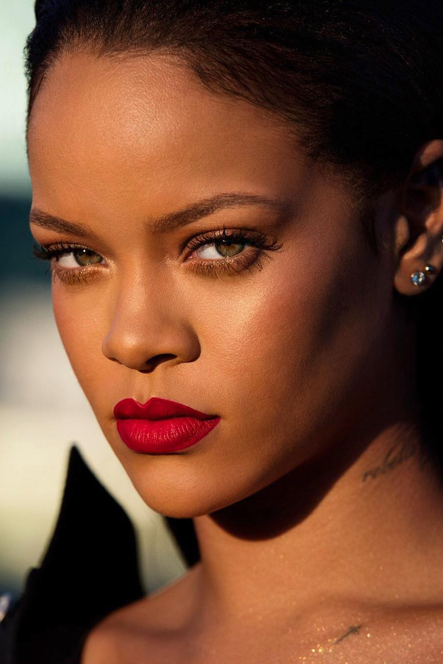 picture Best of the Week: Rihanna's Orange Lip, Kim Kardashian's Birthday Glam,More