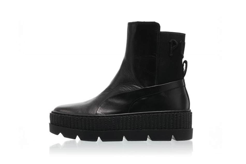 Rihanna Fenty PUMA Chelsea Sneaker Boot Sterling Blue