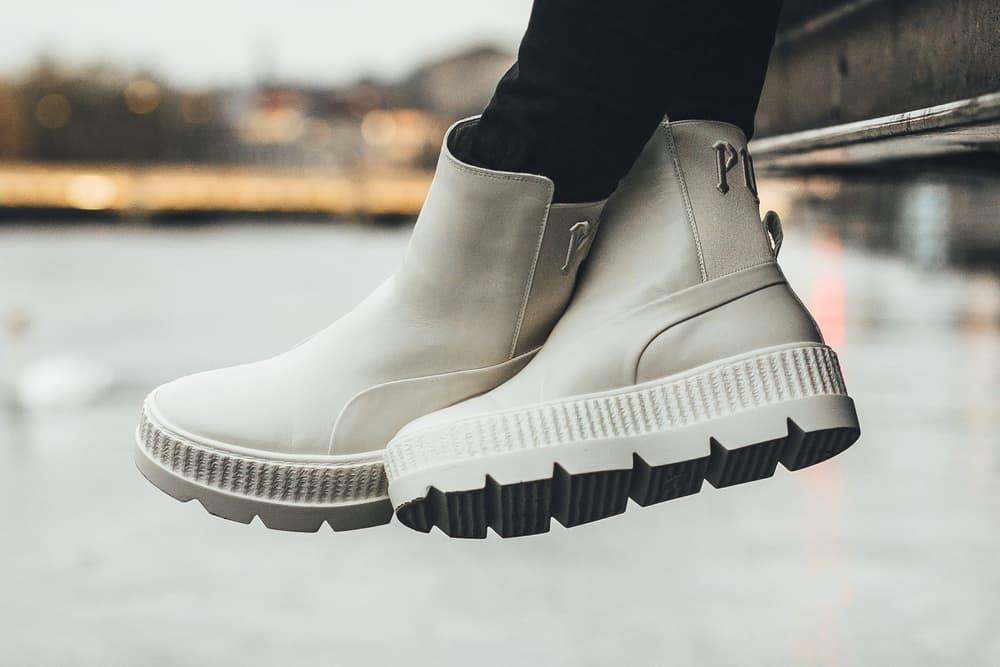 dab9ab7e4db8aa Rihanna Fenty PUMA Chelsea Sneaker Boot Vanilla Ice