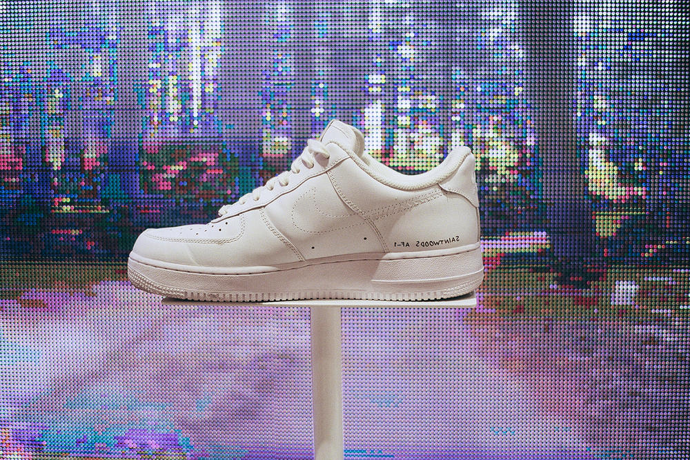 saintwoods nike air force 1 capsule collection 35th anniversary