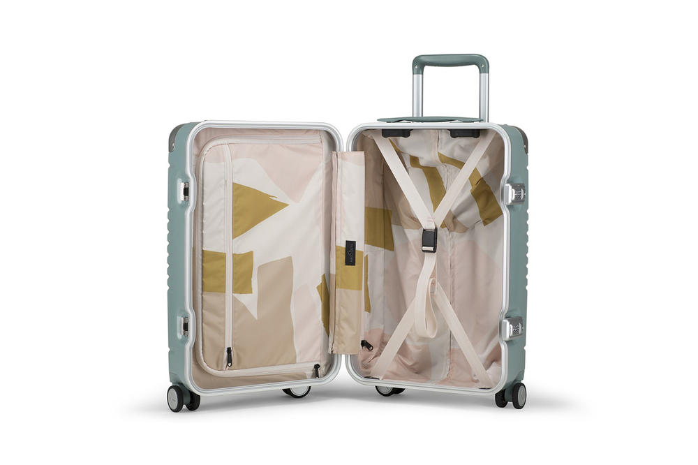 Sight Unseen Arlo Skye Suitcase Luggage Sage Mint Green