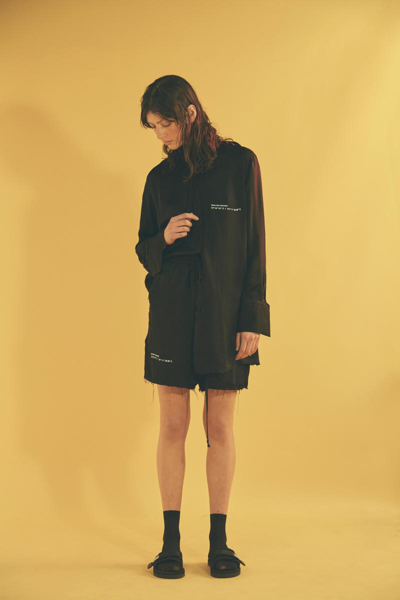Song for the Mute Spring/Summer 2018 Wonder Collection Lookbook