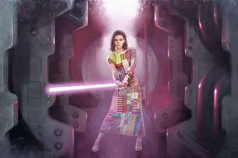 Star Wars Kendall Jenner Gigi Hadid Bella Hadid Kaia Gerber Taylor Hill Illustrations Fashion