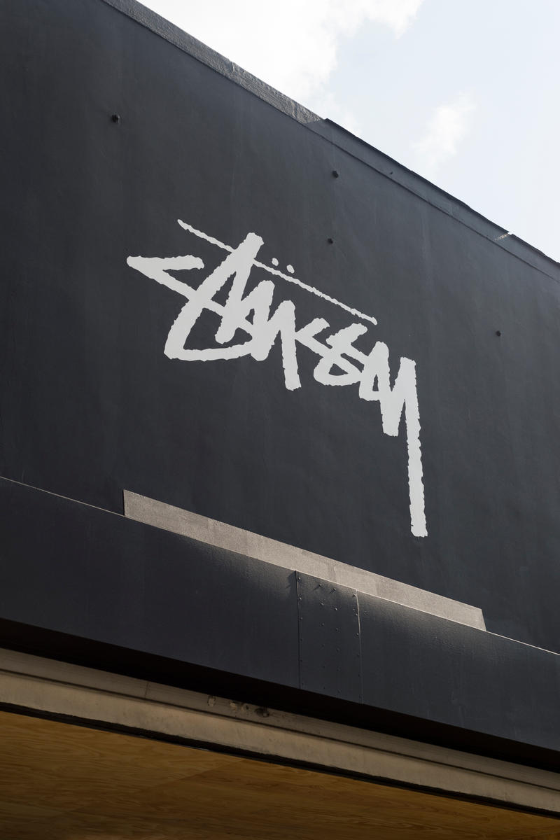Stussy Lost Angeles Store Opening Retail Space Full Look Inside Interior Fashion Skate Culture Clothes