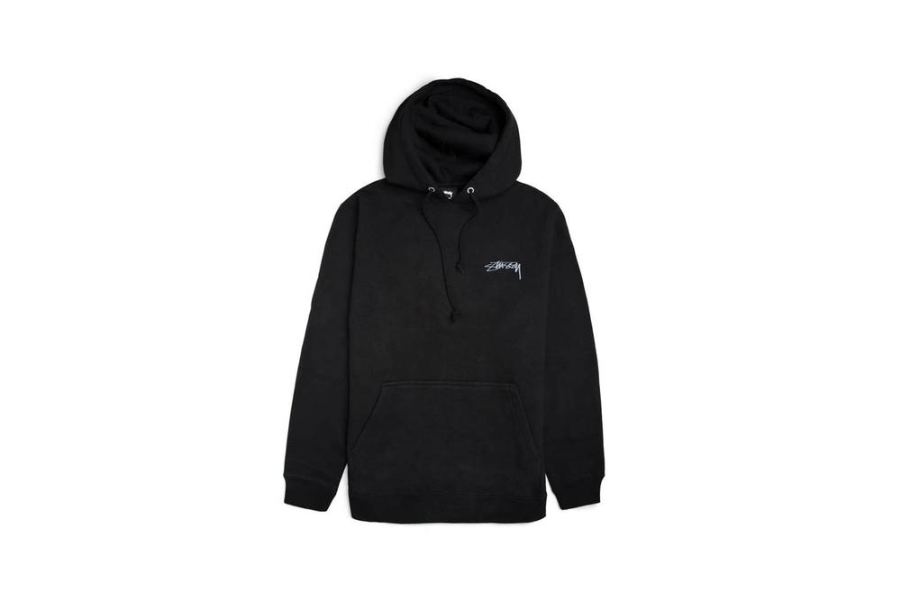 Stussy Smooth Stock Hoodie Dusty Rose Apricot Black
