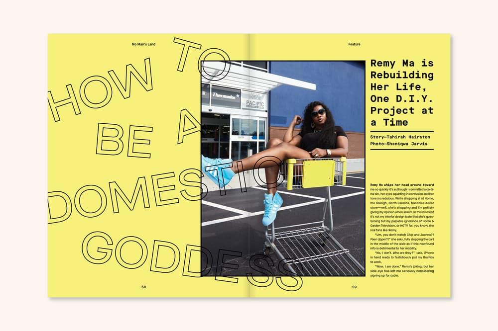 The Wing Magazine Issue One No Man's Land Hari Nef