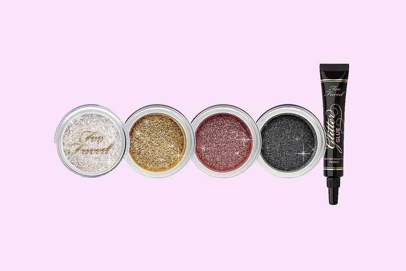 too faced glitter set tis the season to sparkle