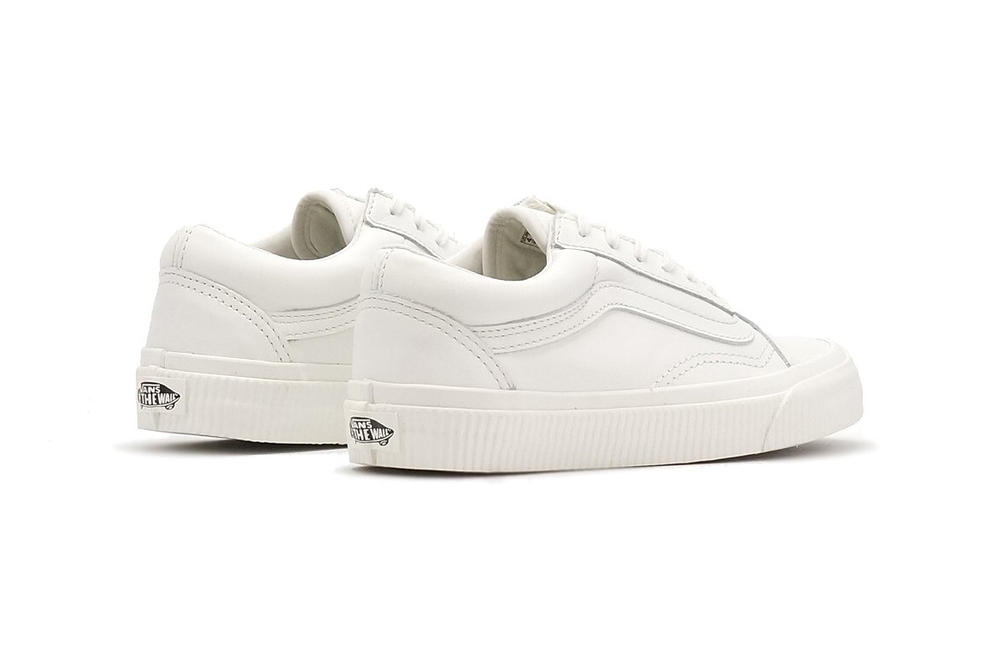 Vans Old Skool Embossed Sidewall Rose Blanc