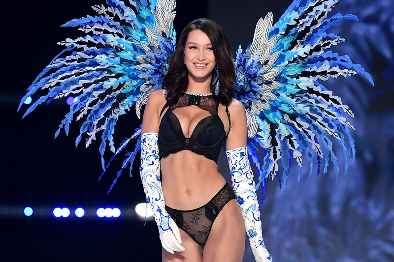 Victorias Secret Fashion Show 2017 How to Watch CBS Time Bella Hadid Adriana Lima Alessandra Ambrosio Taylor Hill Elsa Hosk Karlie Kloss Jasmine Tookes Bra Lingerie