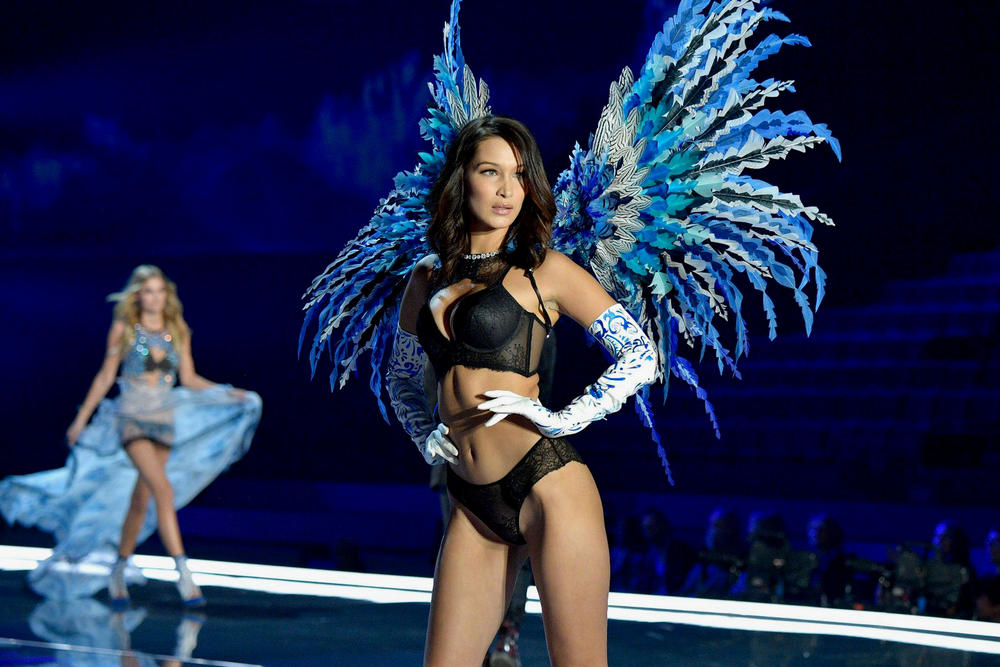 Bella Hadid Victoria's Secret Fashion Show 2017 Body Diversity