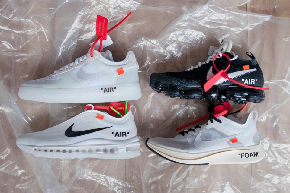 225f9b094 Unboxing Virgil Abloh x Nike