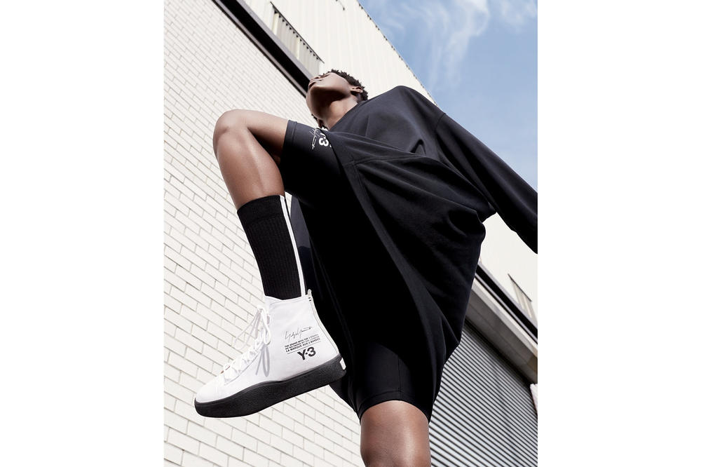 y-3 yohji yamamoto adidas spring summer 2018 campaign chapter one 1
