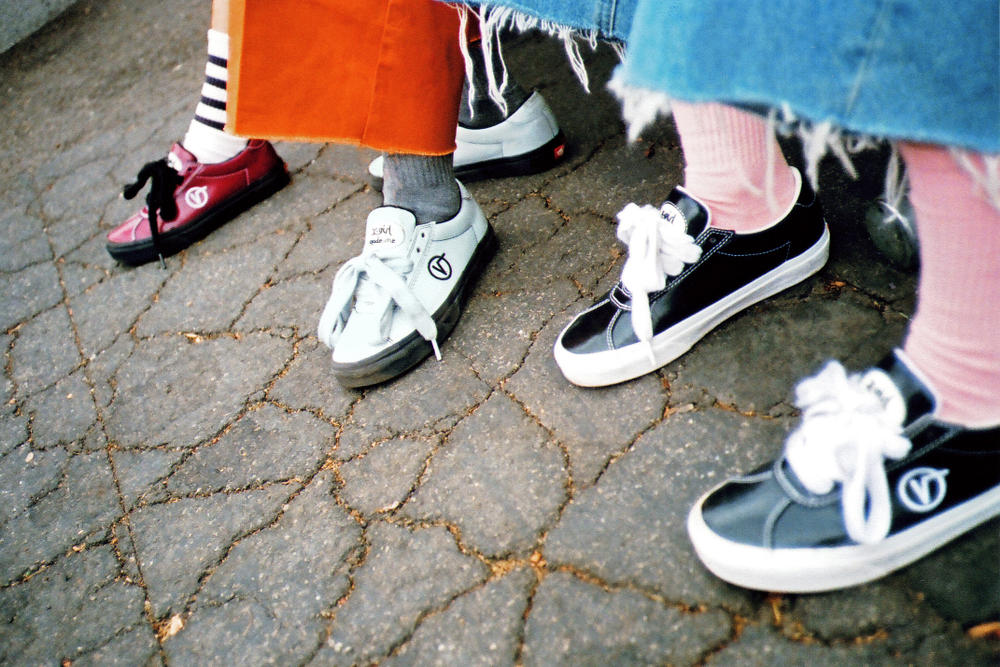 X-Girl MadeMe Vans Shoes Collaboration Collection Erin Magee Vans Wally Silhouette Old School 90s
