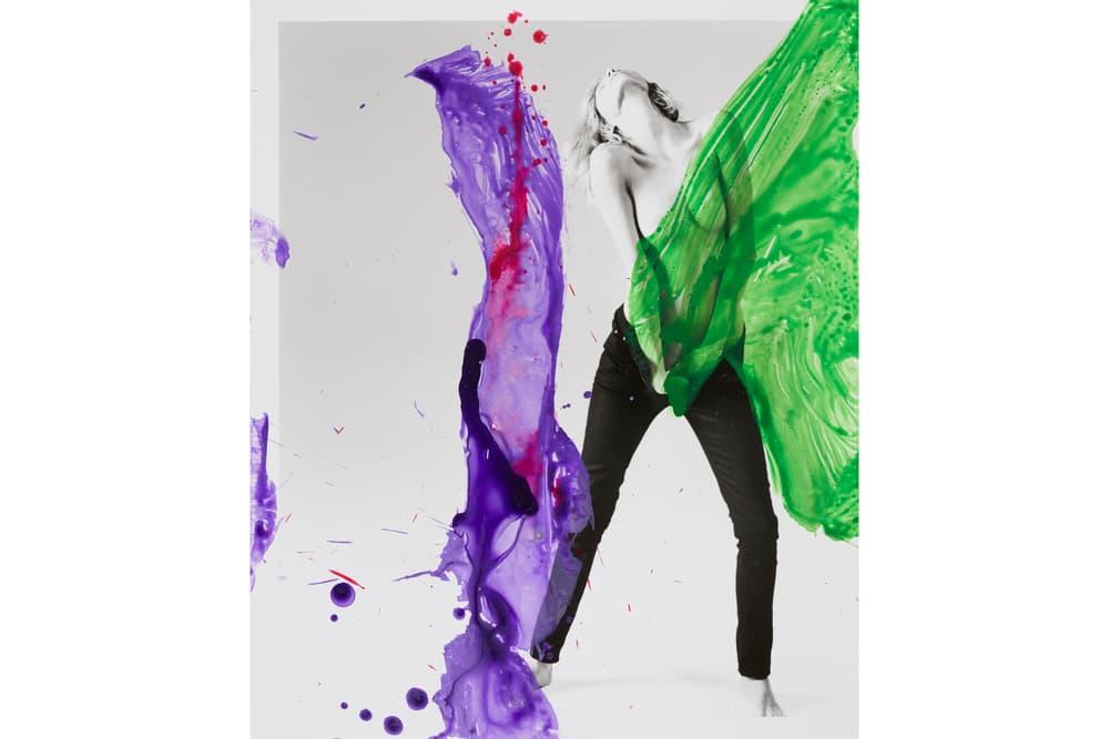 Nobuyoshi Araki Saint Laurent colette Paris Exhibition Art Anthony Vaccarello Photography Exclusive Pieces Anja Rubik