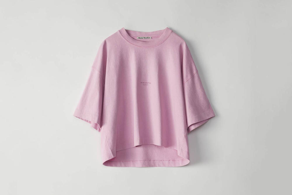 Acne Studios Cylea T-Shirt Candy Pink