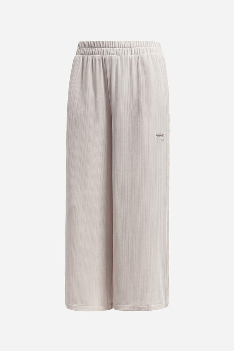 save off 12371 689ea adidas Originals SC Ribbed Pant Long Sleeve Crop Tee Linen