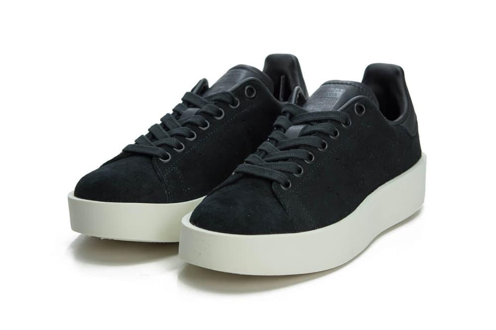 the latest b3e9b 33496 adidas Originals Stan Smith Bold in Core Black | HYPEBAE