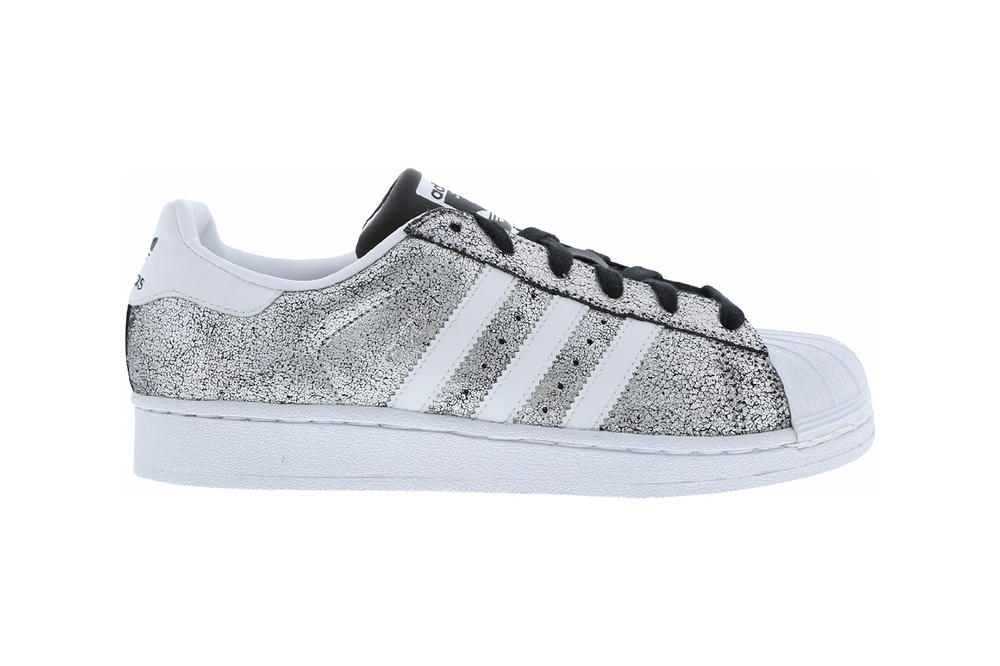 adidas Originals sparkly silver superstar holographic