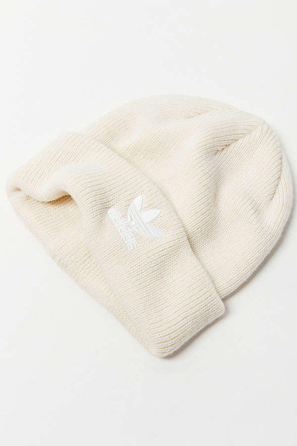 c0b0cee4 adidas Originals Trefoil II Knit Beanie Lavender Ivory Sky
