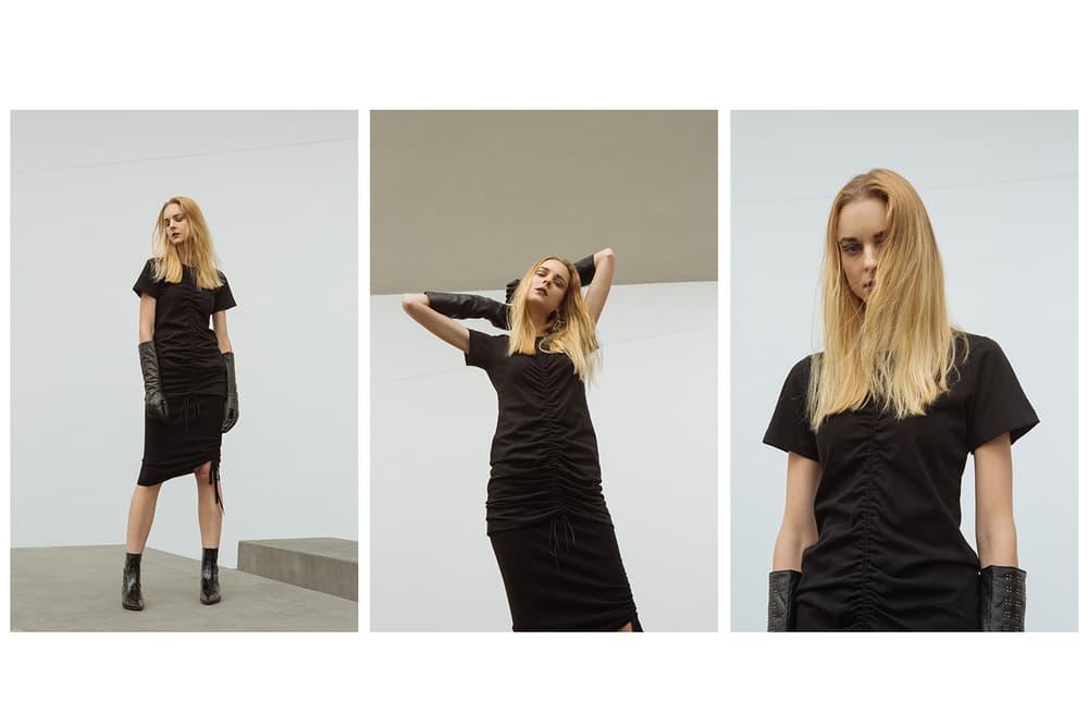 HBX Alexander Wang Fall/Winter 2017 Editorial Collection Fashion Denim Basics
